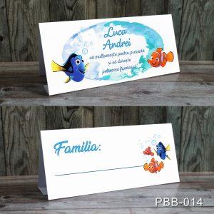plicuri bani carduri masa botez Nemo
