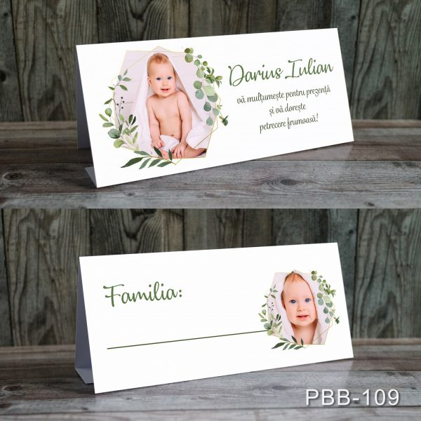 plicuri bani carduri masa botez decoratiuni florale si foto