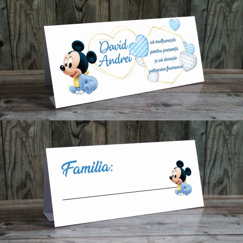 plicuri de bani botez Mickey bebe