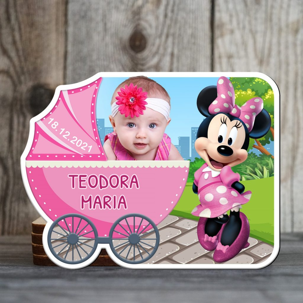 marturii botez magnetice Minnie Mouse